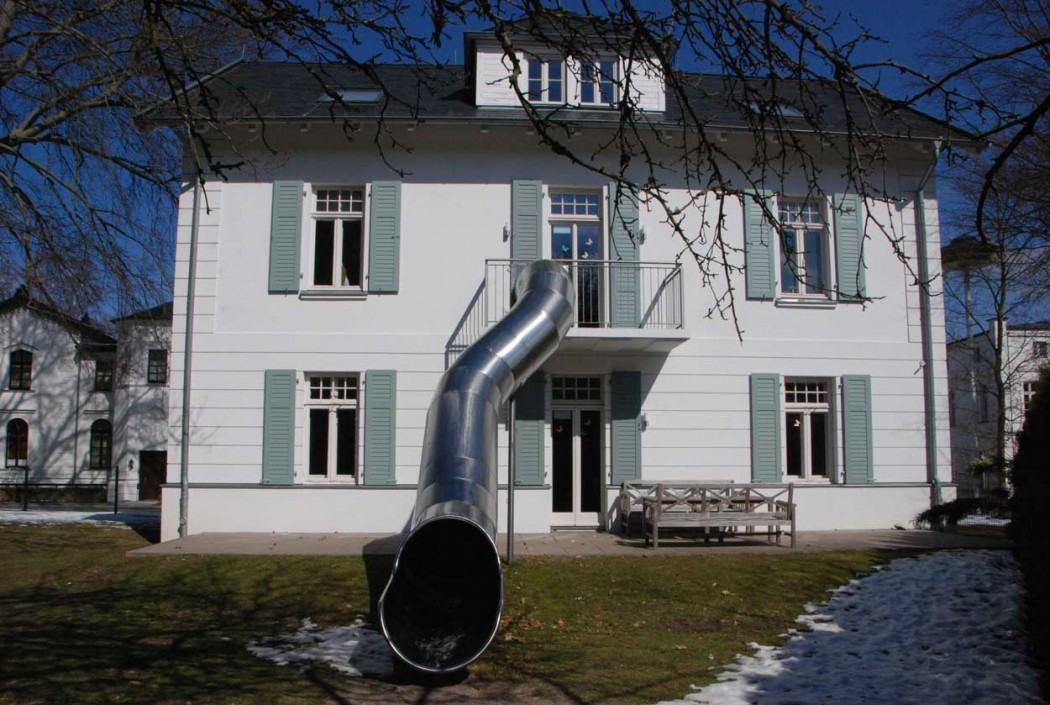 Luxusurlaub-an-der-Ostsee-Grand-Hotel-Heiligendamm-Kindervilla-Rutsche
