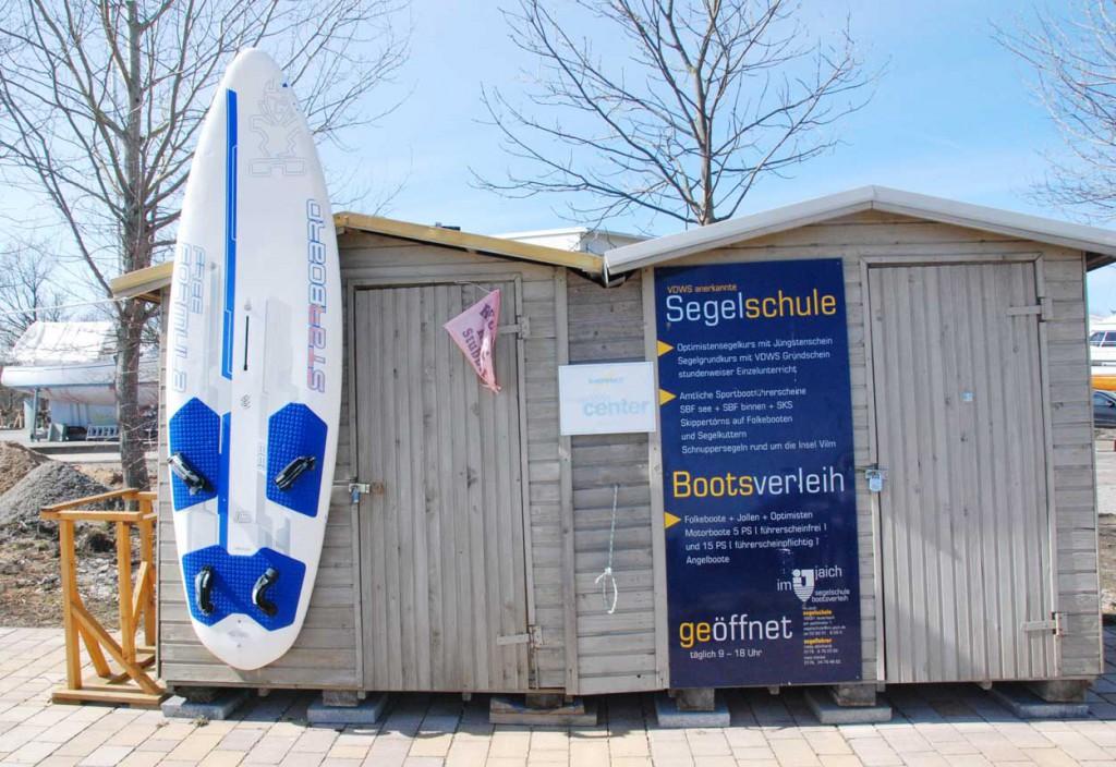 Surfverleih Huetten im jaich auf Ruegen
