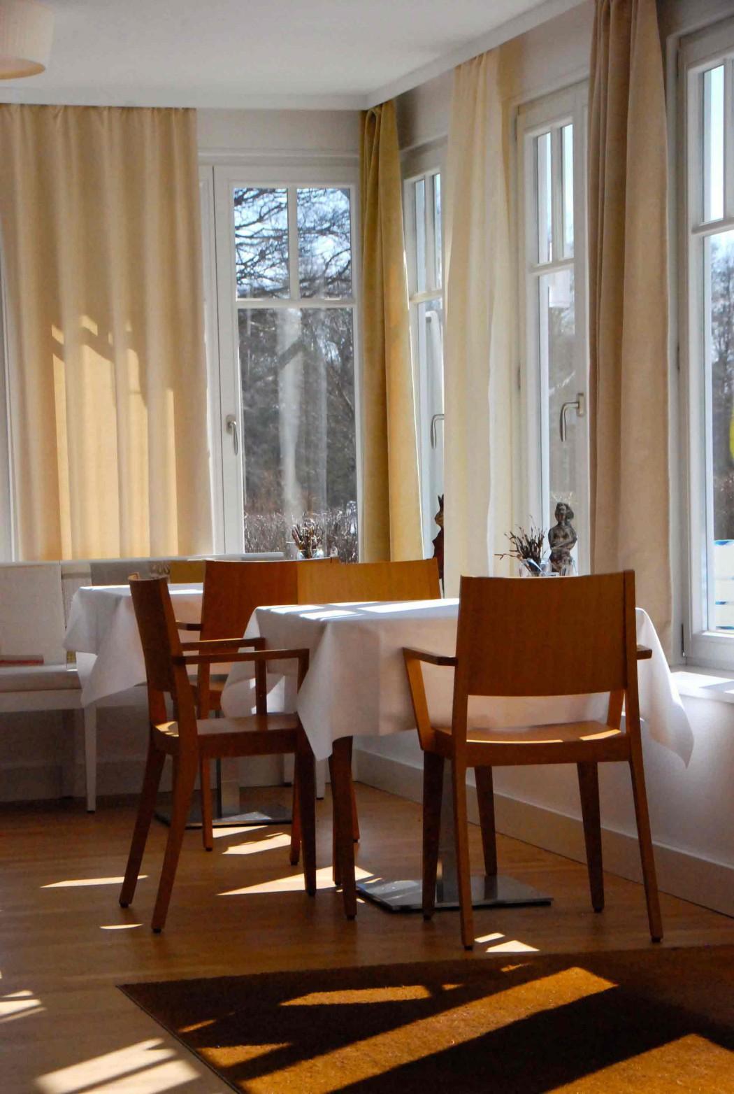 Frühstücksraum Charlottenhof in Ahrenshoop