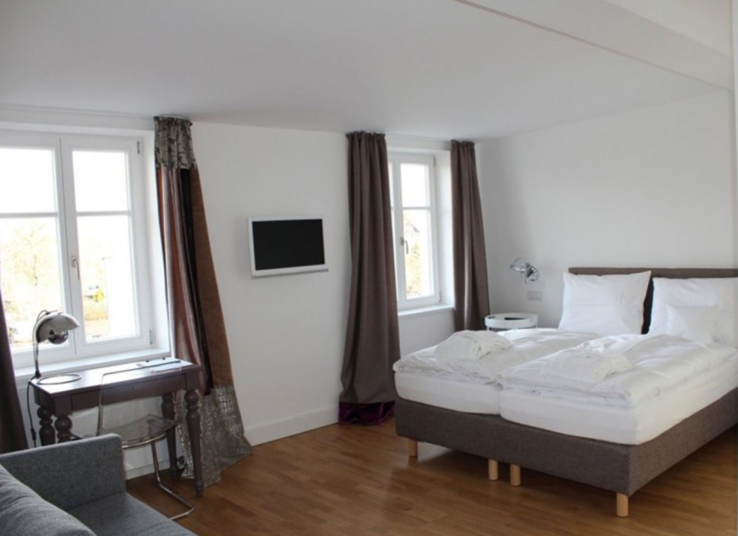 Doppelzimmer im Charlottenhof in Ahrenshoop