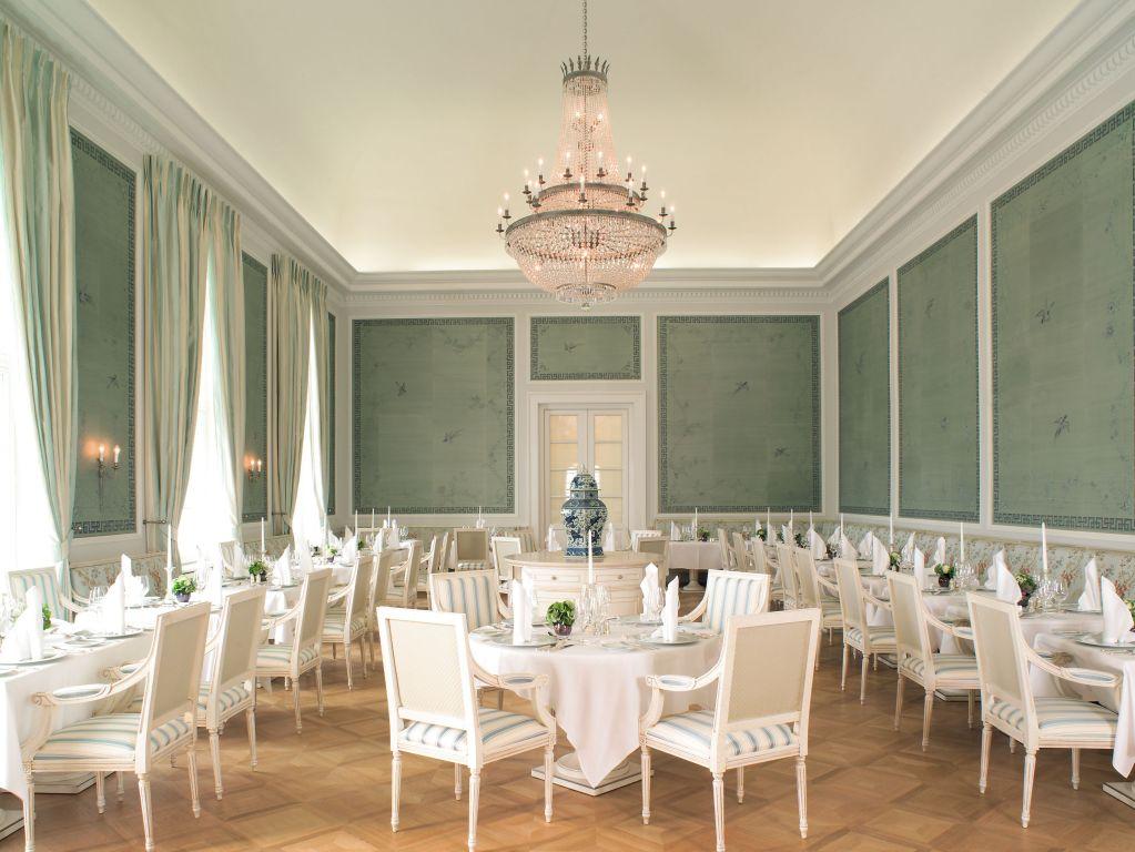 Luxusurlaub an der Ostsee Grand Hotel Heiligendamm Kurhaus Restaurant