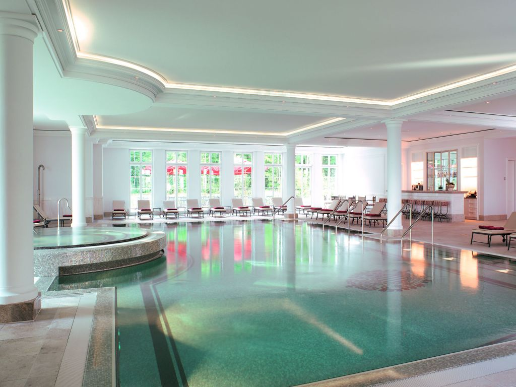Luxusurlaub an der Ostsee Grand Hotel Heiligendamm Pool
