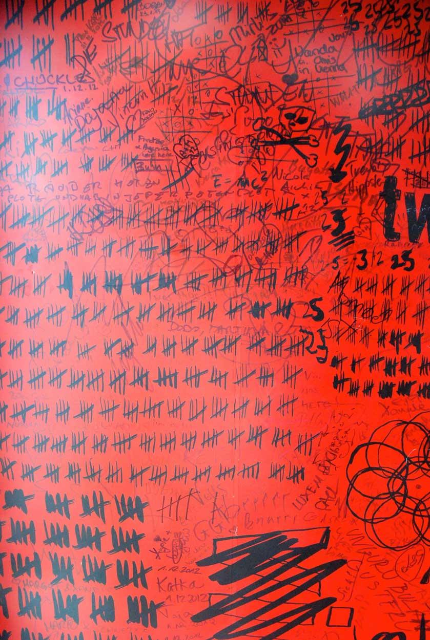 Wien-erleben-mit-Kind-25hours-hotel-graffiti-Fahrstuhl