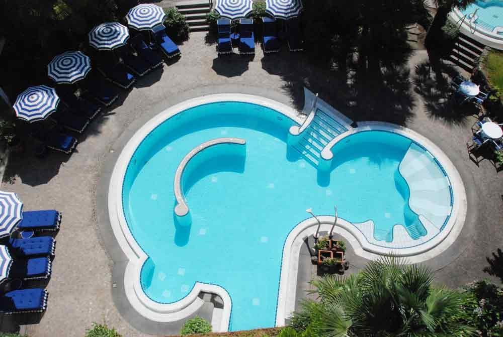 Pool Meisters Hotel Irma Wellnesshotel in Meran