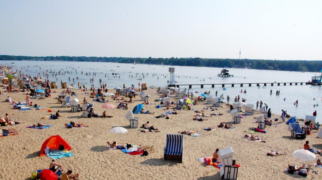 Ausflugstipps für Berlin Strandbad Wannsee @ looping