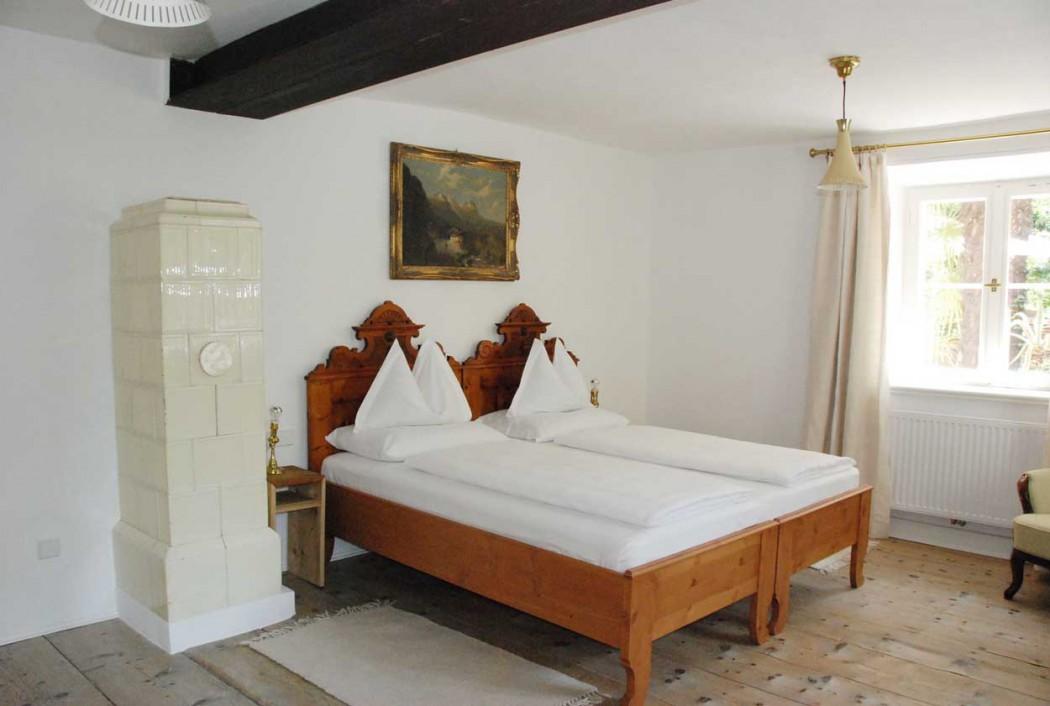 Doppelzimmer Pension Ottmanngut in Meran