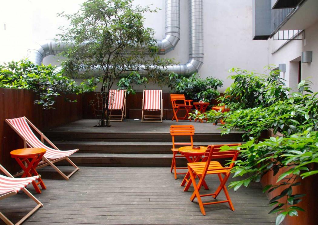 kleienr Garten Hollmann Beletage besonderes Hotel für Familien in Wien