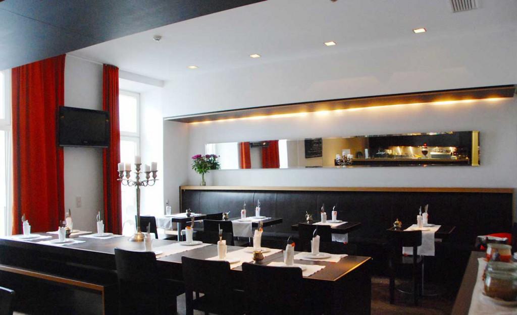 Frühstücksraum Hollmann Beletage besonderes Hotel für Familien in Wien