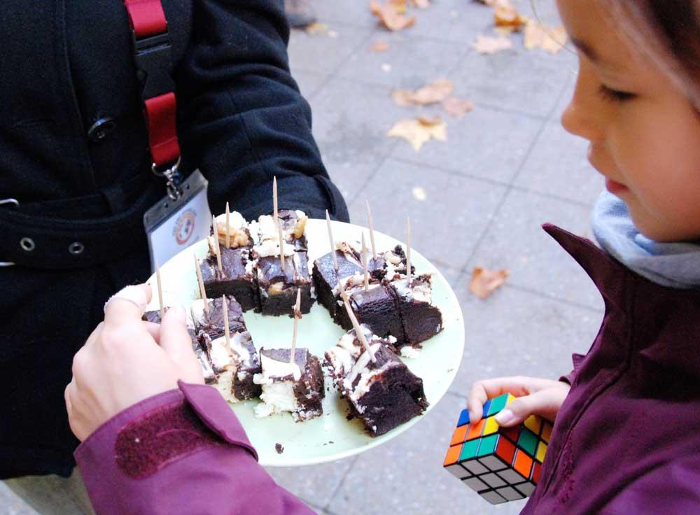 Brownie testen im Gräfekiez