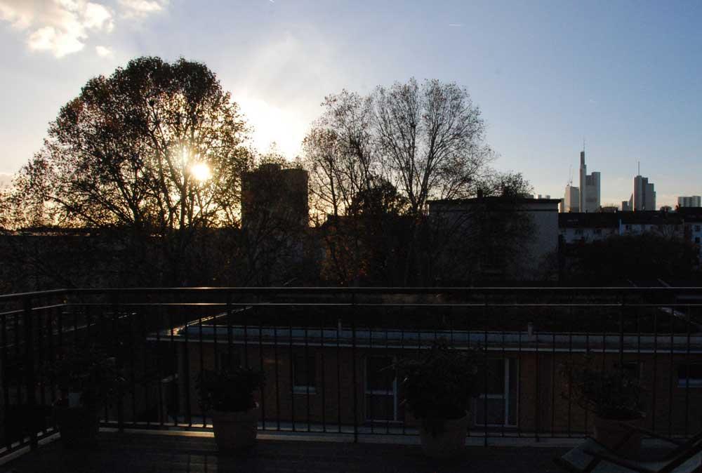 Terrase mit Aussicht