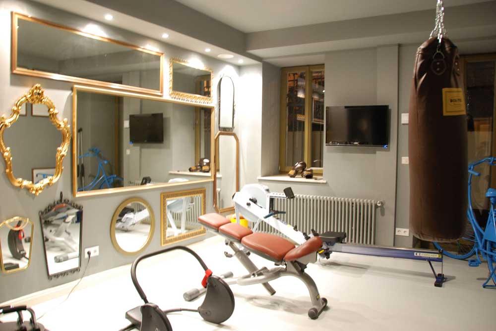 der beste Fitnessraum in Frankfurt