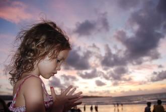 nach Bali reisen mit Kind