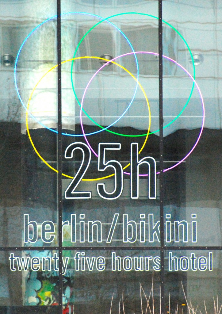 Come as you are! 25hours Hotel Bikini Berlin.