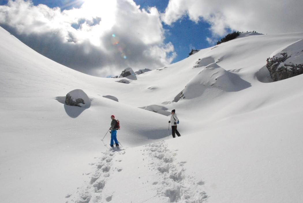 warum schneeschuhwandern