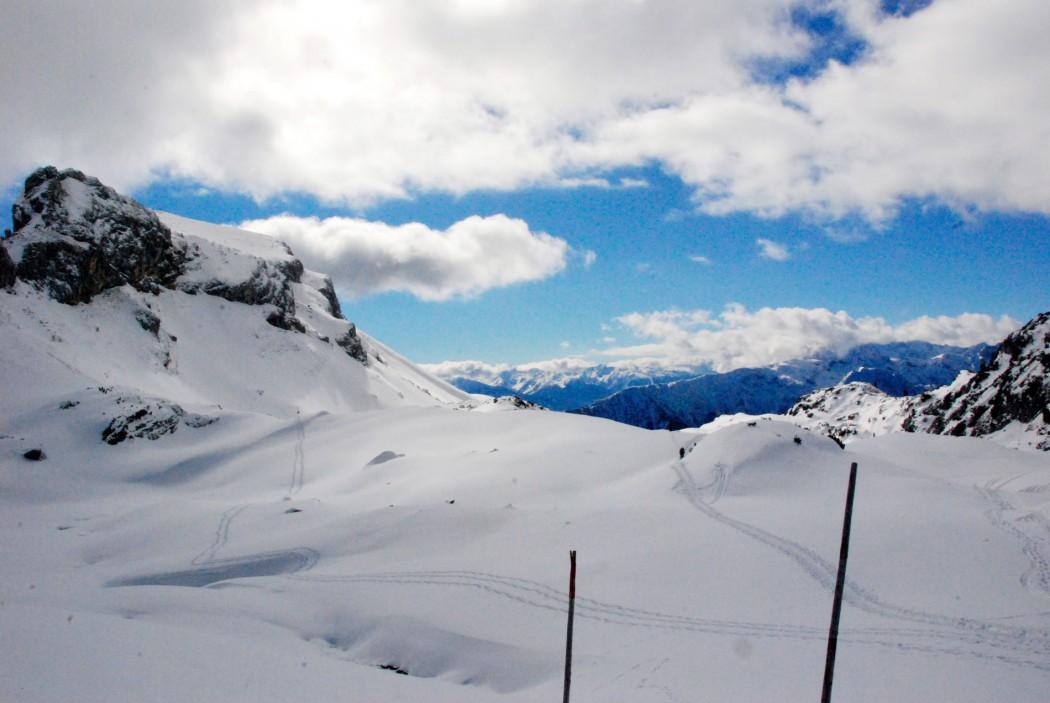 schneeschuhwandern am Rofan