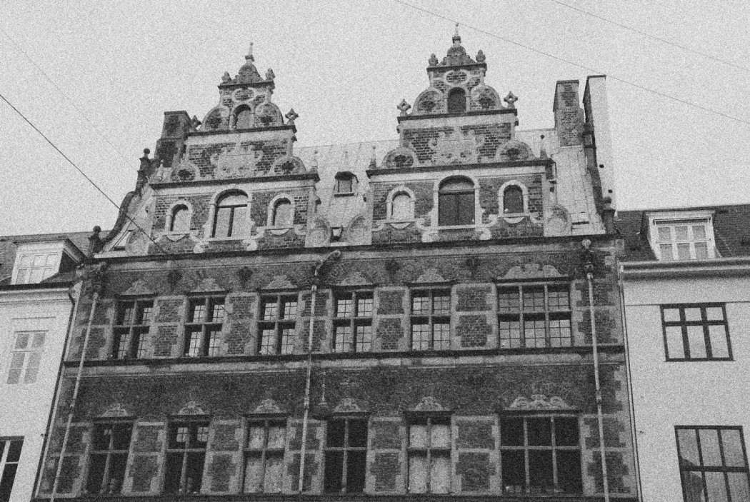 Spaziergang in Kopenhagen altes Gebäude