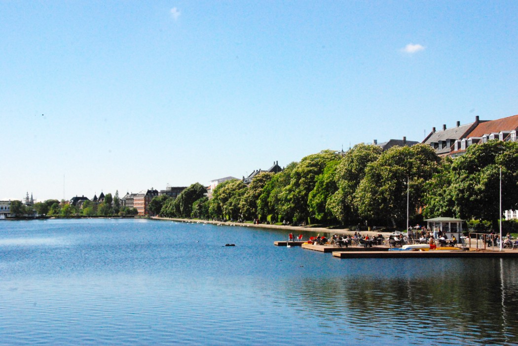 Spaziergnag in Kopenhagen über die Brücke in die Nørrebrogade