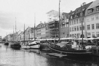 Spaziergang in Kopenhagen am Hafen