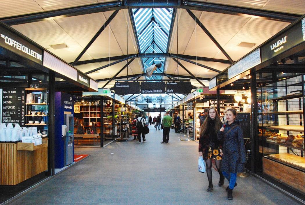 Ich mag Kopenhagen und diese Markthalle