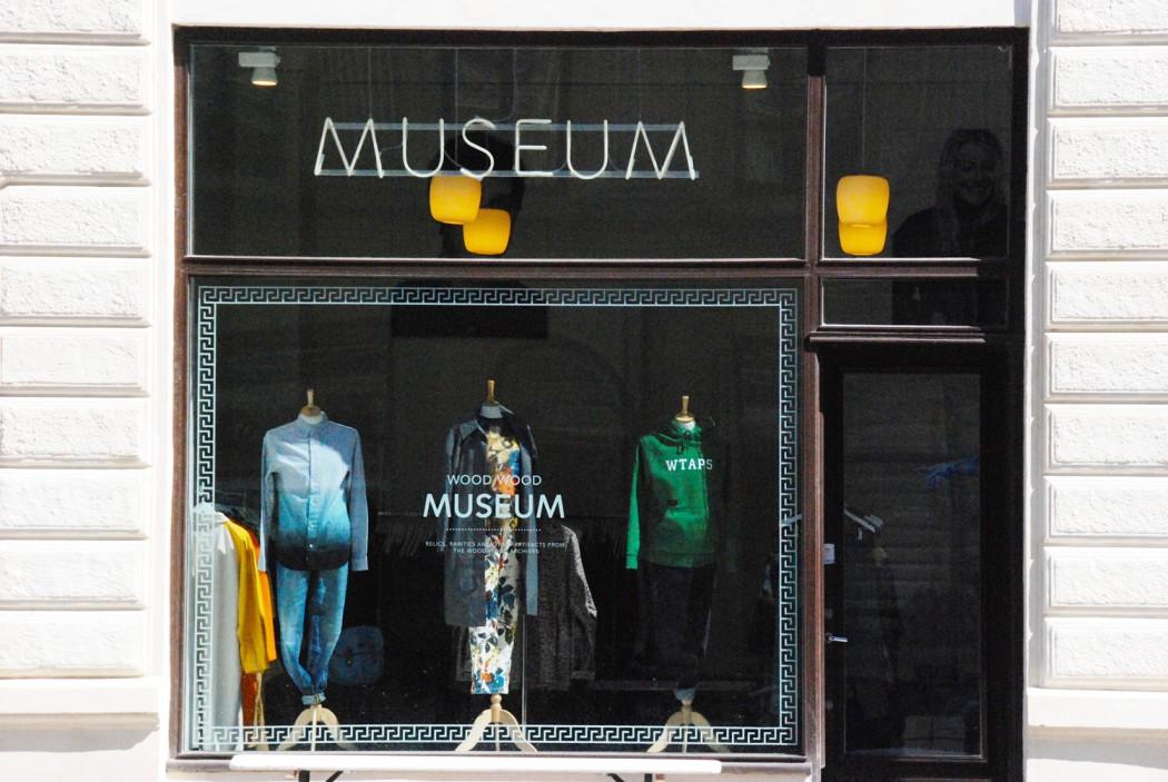 Ich mag Kopenhagen und das Geschäft Museum