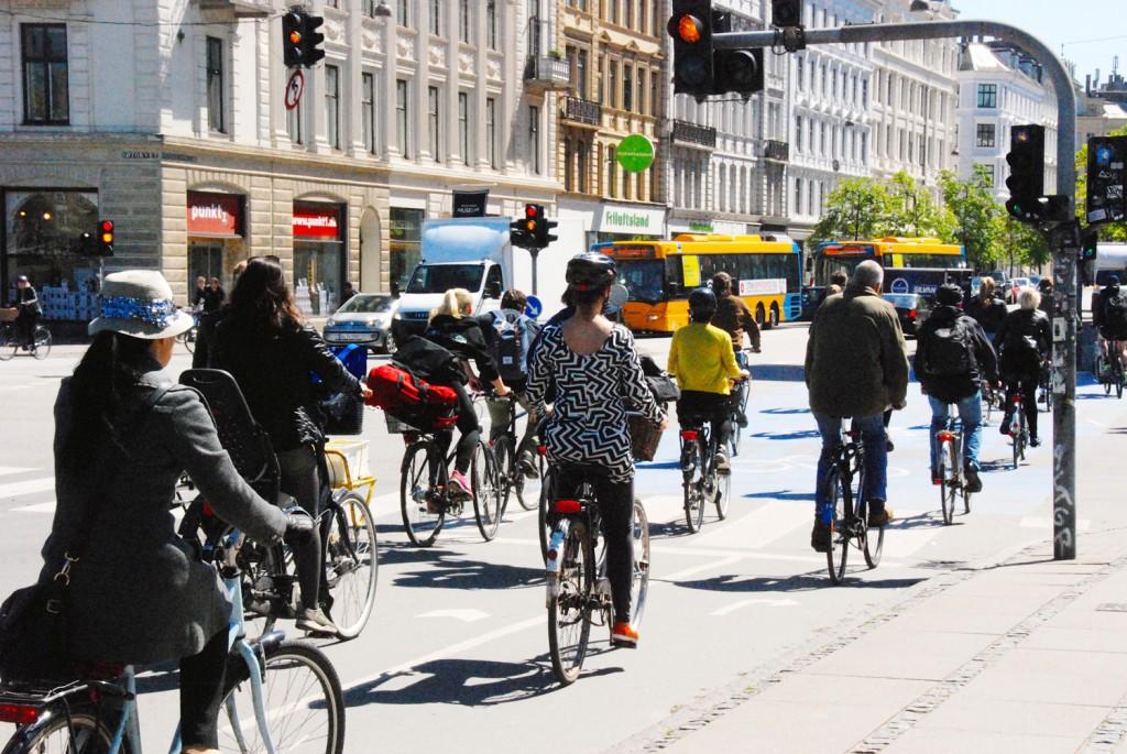 ich mag Kopenhagen und die vielen Radfahrer