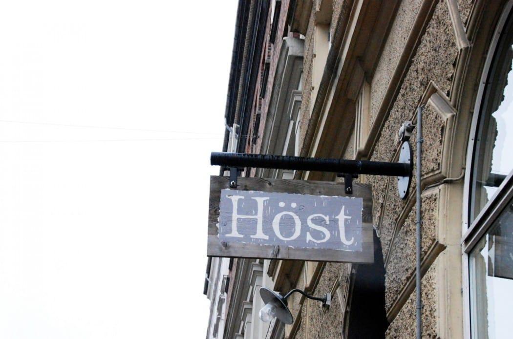 Ich mag Kopenhagen und das restaurant Höst