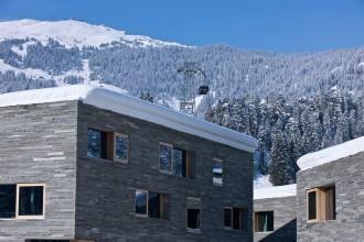 das rocks ressort die perfekte Unterkunft für das Skifahren mit Kind in der Schweiz