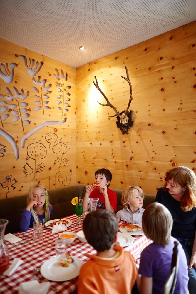 Kinder im Haus Hirt Hotel für den Skiurlaub mit Kind in Österreich