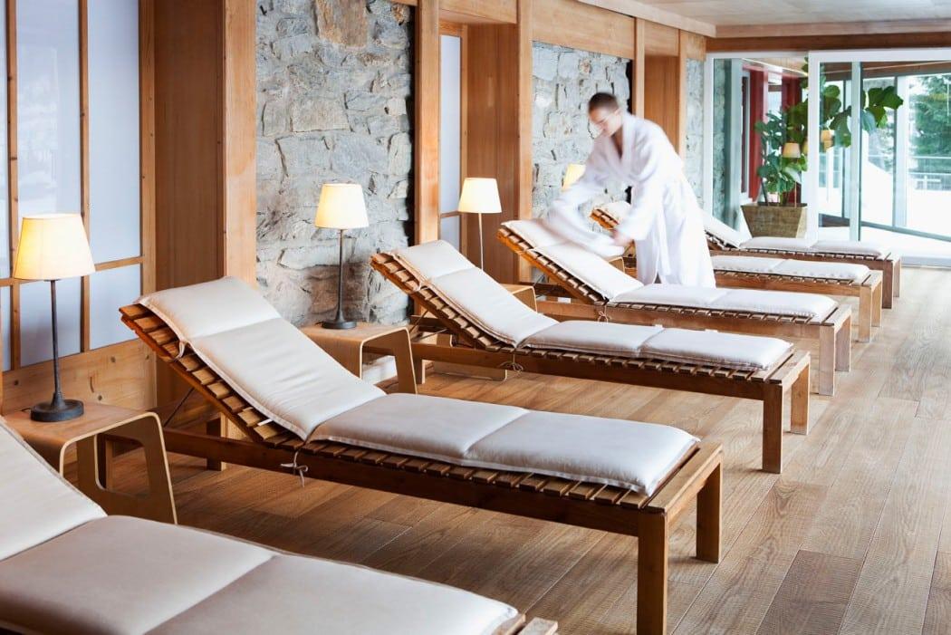 Schönes Spa Haus Hirt Hotel für den Skiurlaub mit Kind in Österreich