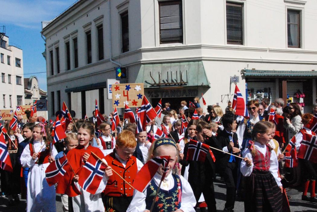 Norwegen Reisetipps Nationalfeiertag in Moss