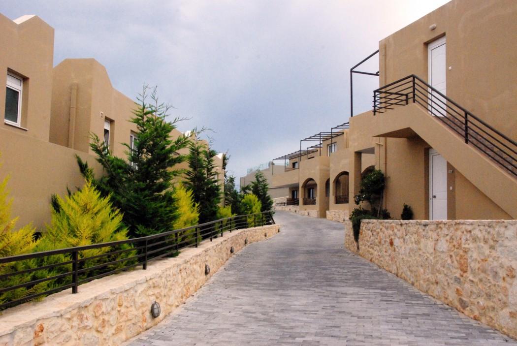 Mit dem Auto unterwegs auf Kreta Bungalows vom Hotel Rimondi Grand Resort