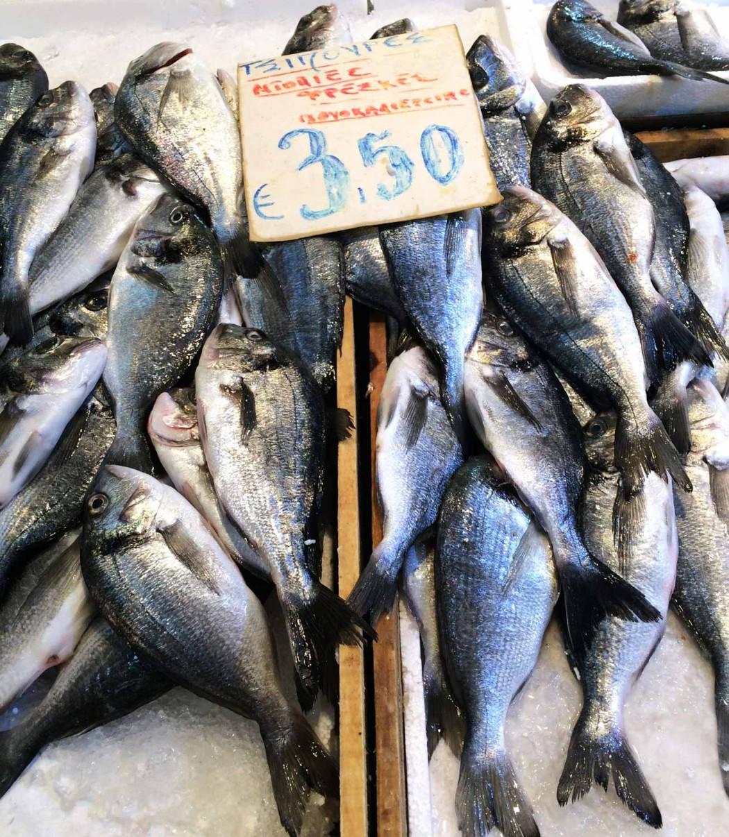 fischmarkt in Athen