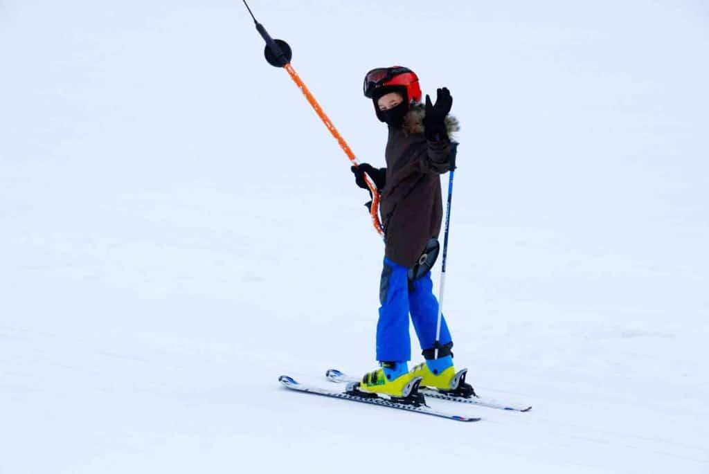 schlepplift Skiurlaub mit Kind in Gitschberg Jochtal