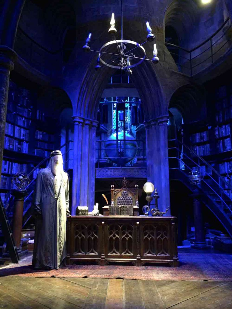 Dumbledore Warner Bros Studio Tour London