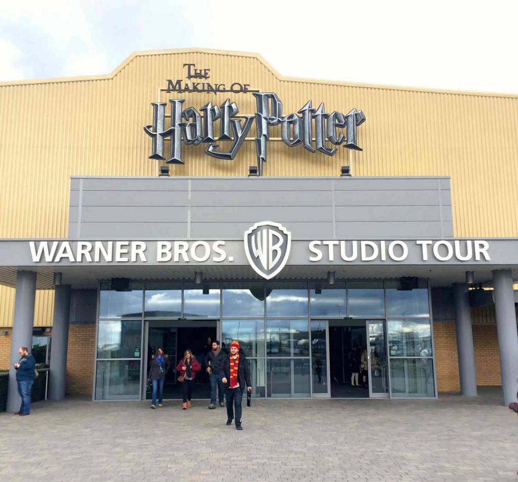 Studiohalle Warner Bros Studio Tour London