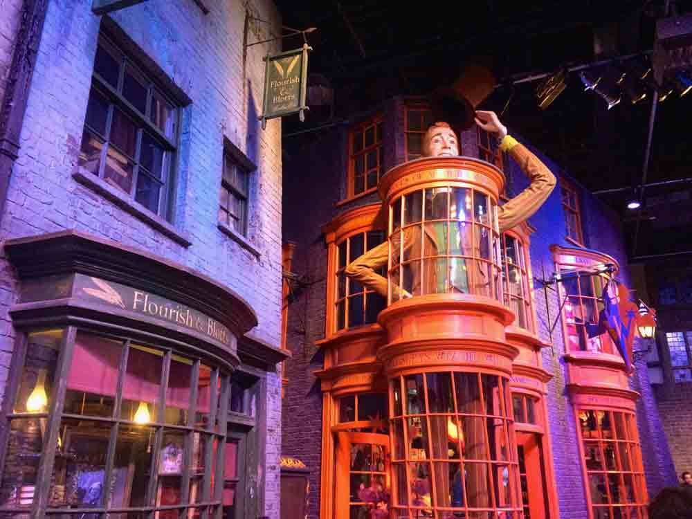 Winkelgasse Warner Bros Studio Tour London