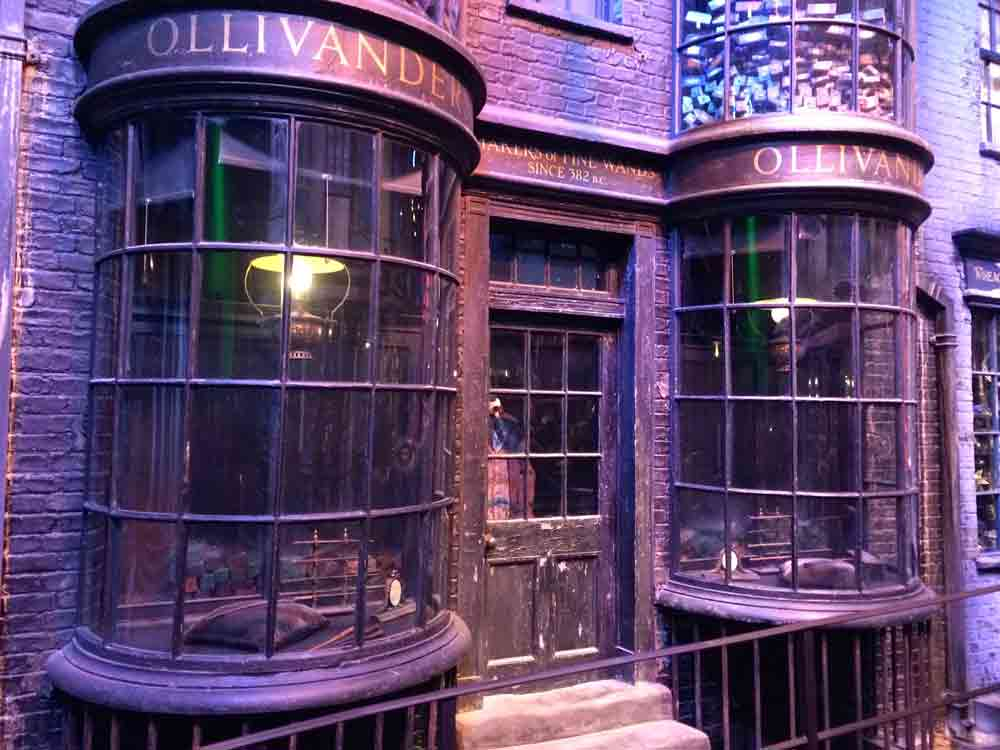 olivander winkelgasse Warner Bros Studio Tour London