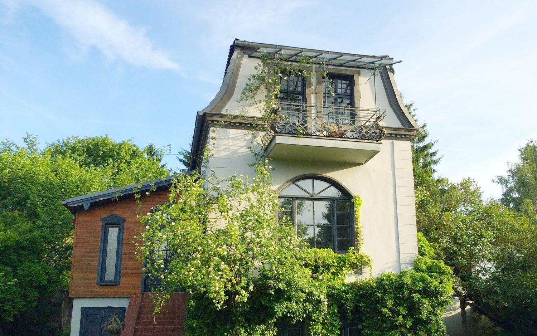 Kleine Villa mit Seeblick in Buckow Brandenburg
