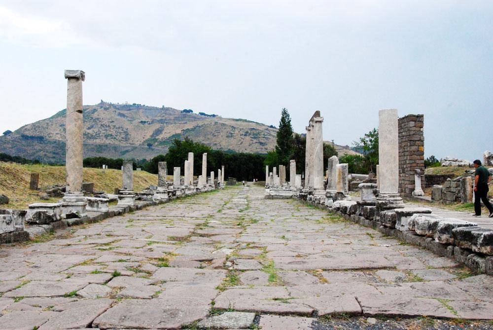Asklepion in der Naehe von Pergamon