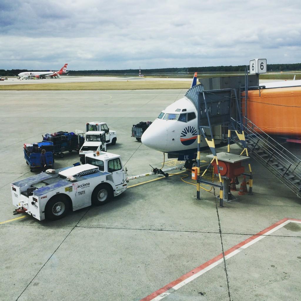 Flughafen Berlin Tegel Airline Sunexpress