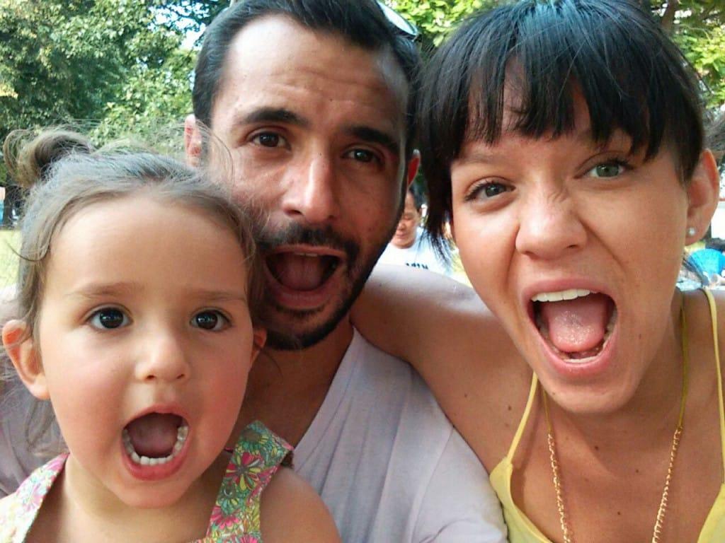 Laura und ihre Familie in Berlin