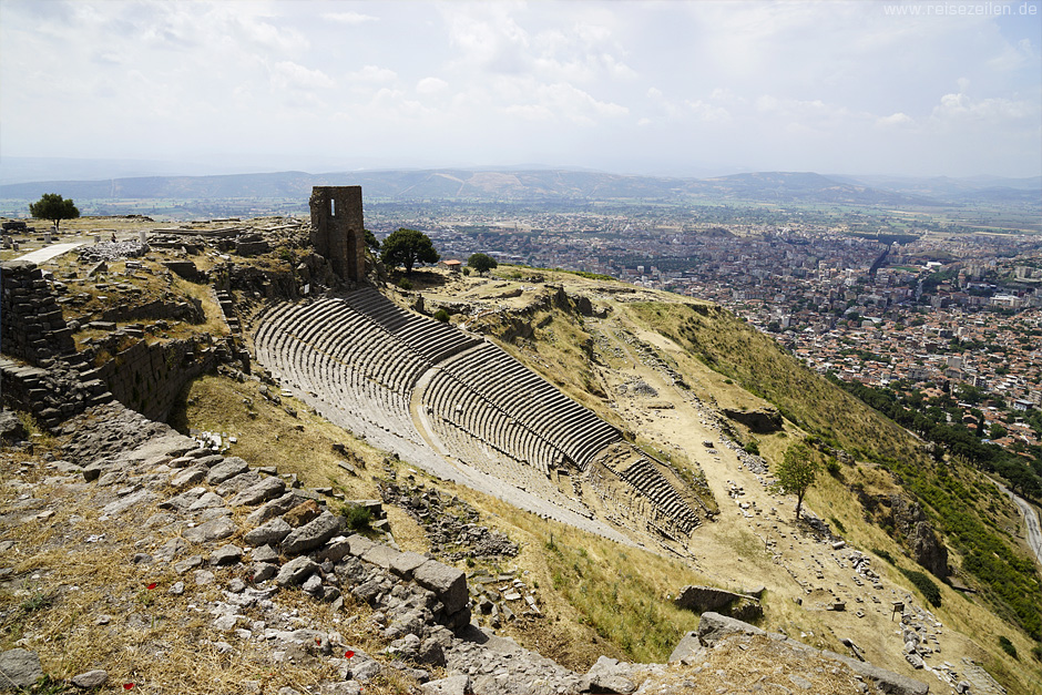 Pergamon_Türkei_Theater