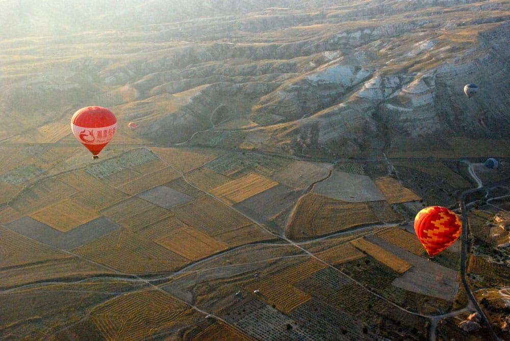 Traumhafte Ballonfahrt in Kappadokien