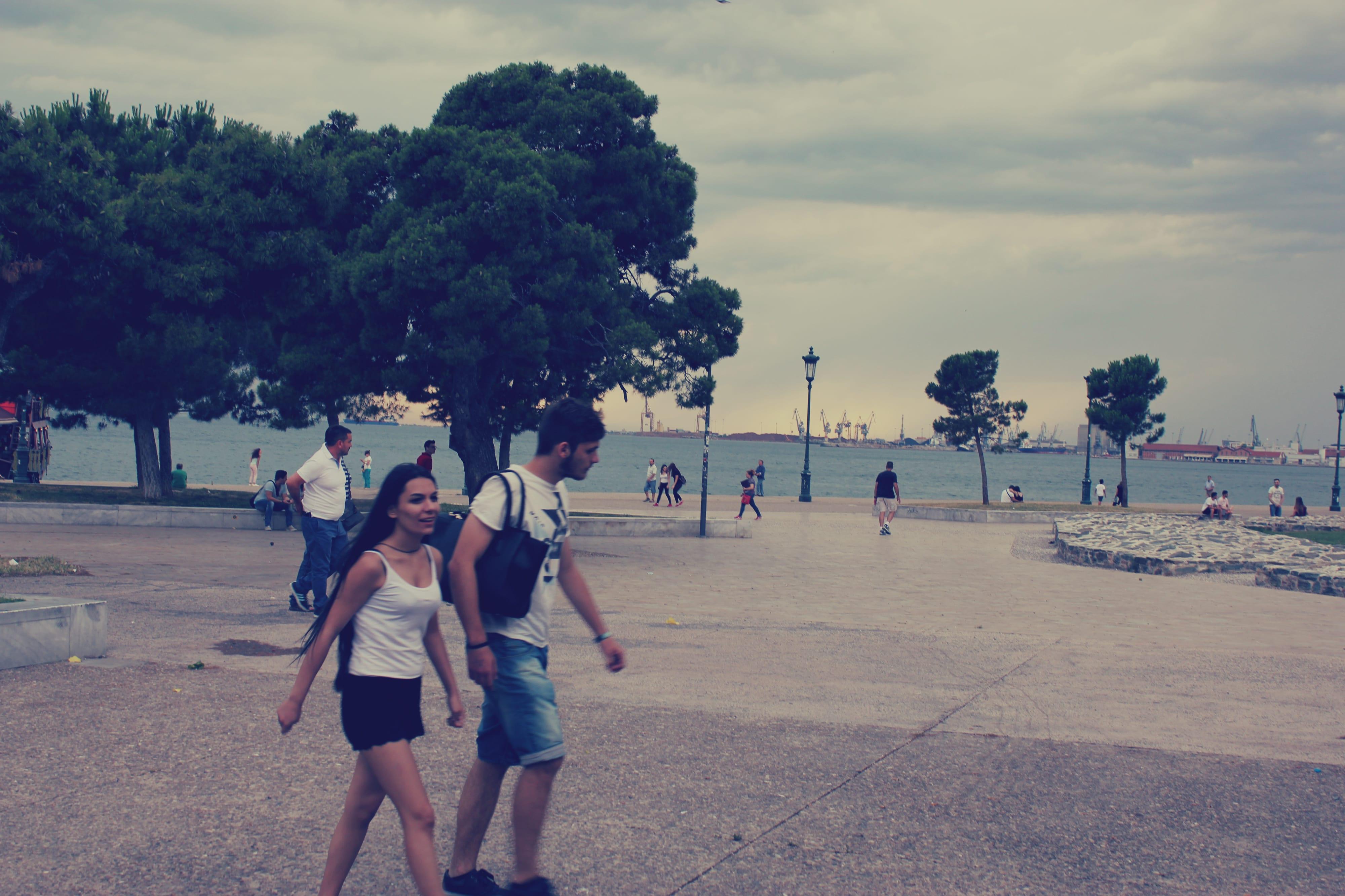 Hafenpromenade Thessaloniki