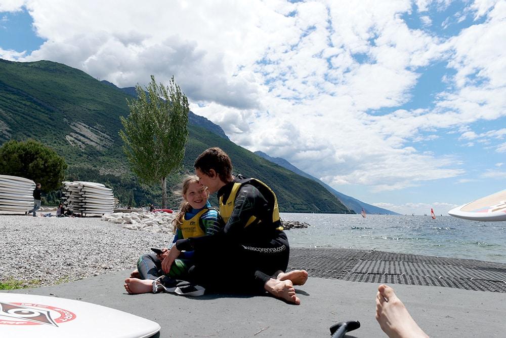 Surfpause am Gardasee