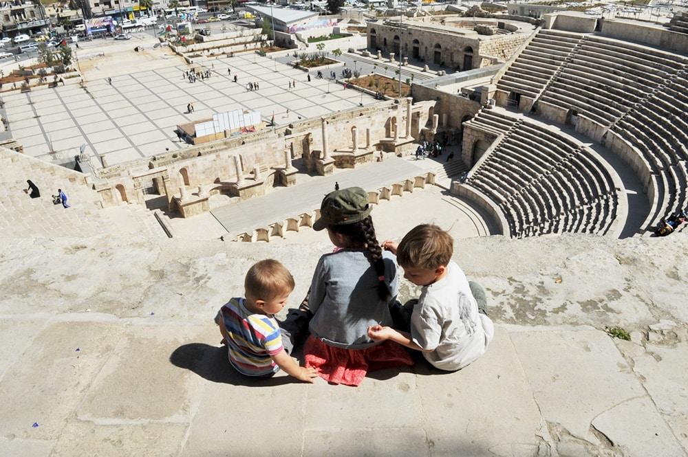Jordanien-Amphitheater-Amman