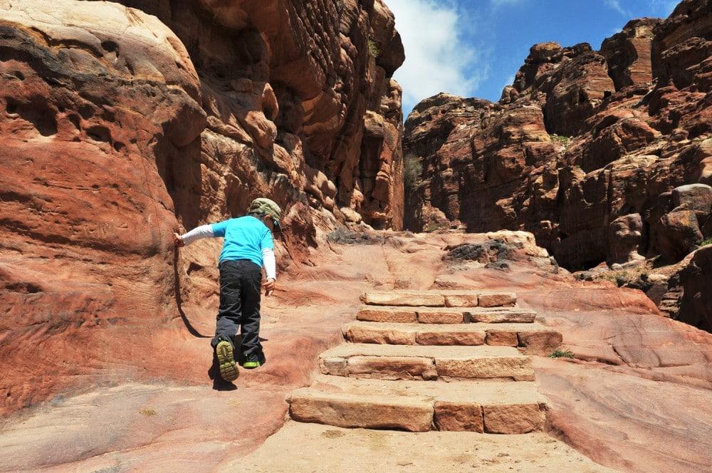 Jordanien-Felsenstadt-Petra