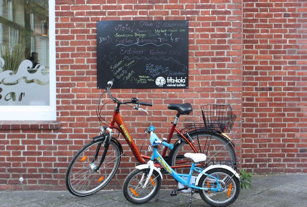 Juist-entdecken-mit-Kind-Fahrraeder