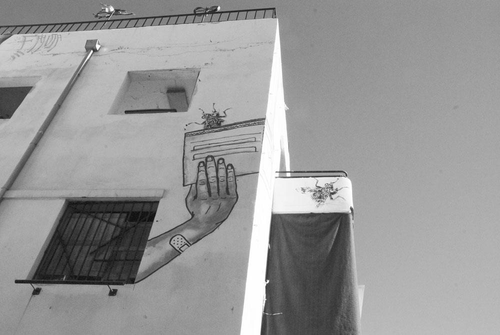 spannende Rundreise durch Israel ©looping-magazin Graffiti Tel Aviv