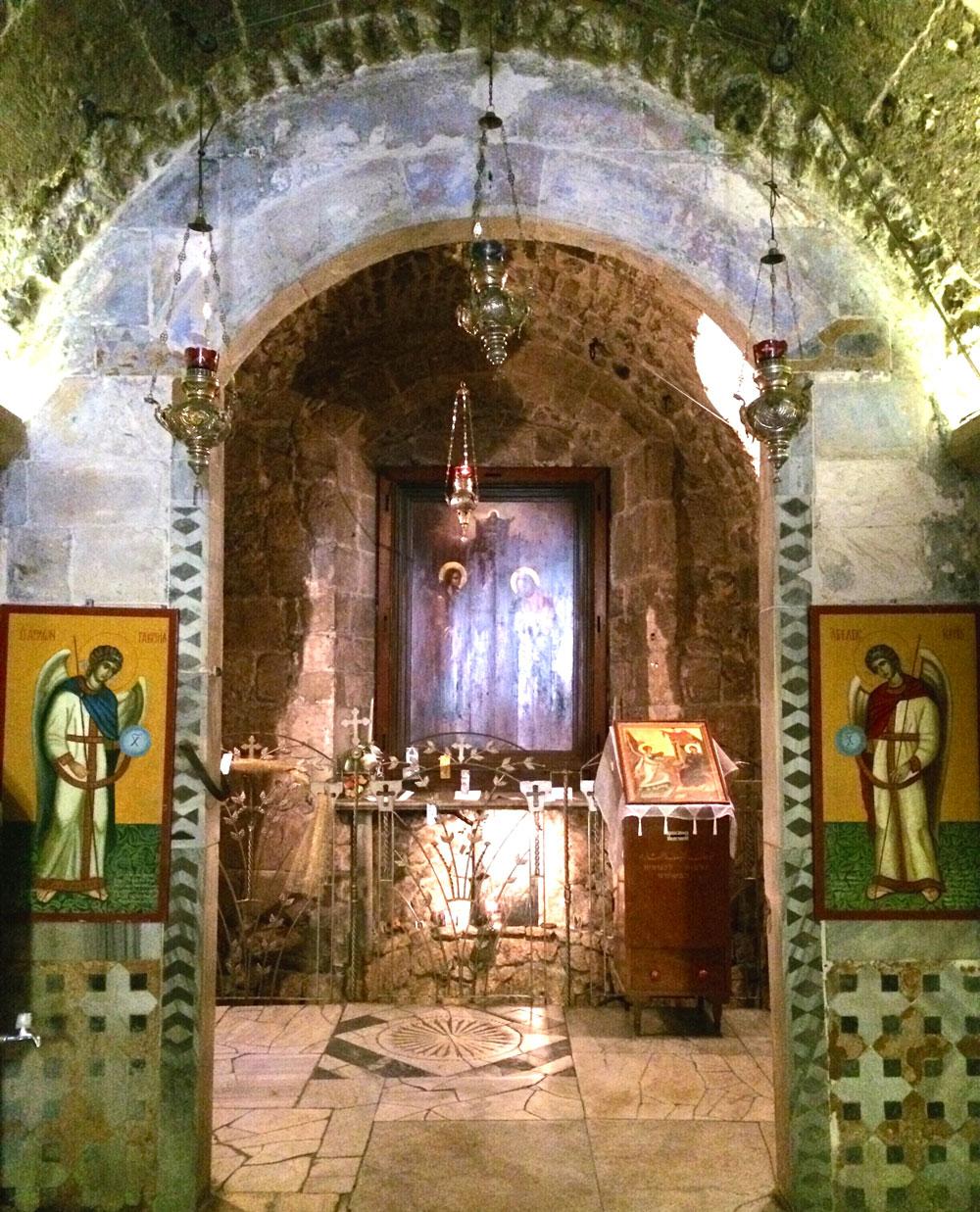 spannende Rundreise durch Israel ©looping-magazin Gabrielskirche in Nazareth